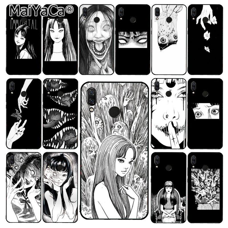 Чехол для телефона MaiYaCa Japanese horror comic Tomie для Xiaomi Redmi8 4X 6A 9 8A Redmi 5 5Plus Note7 8Pro 7A 6A 9 9pro