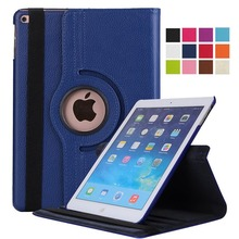 Dla iPad Air 2 przypadku modelu A1566 A1567 Tablet pokrywa 360 stopni obracanie PU skóra dla Coque iPad powietrza 1 inteligentny Auto uśpienia obudzić tanie tanio Greliana Powłoka ochronna skóry 9 7 CN (pochodzenie) for ipad cases ipad air 2 case Stałe 9 7inch Dla apple ipad Na co dzień