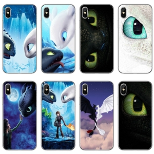 How To Train Your Dragon 3 Toothless Light Fury For iPhone 11 pro XR X XS Max 8 7 6s plus SE 5s 5c iPod Touch 5 6 cover case(China)