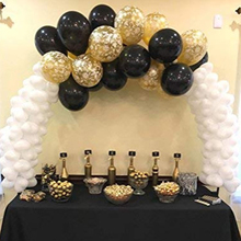 Wedding Graduation Decor Table Balloon Arch Kit Column Stand Set Removable For Birthday Party