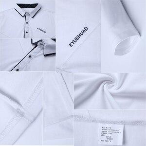 Image 4 - BROWON Offre Spéciale T shirt hommes T shirt Long à rayures rabattues T shirt design coupe mince décontracté coton T shirt mâle grande taille
