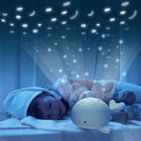 Beiens Night Lights for Kid Star Sky Projector Toy Baby Musical Mobile Light USB Charging Bluetooth Remote Control Christmas