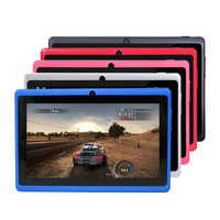 Glavey 7 pulgadas Q88pro AllWinner A33 Quad core tablet pc android 4,4 4GB/ 8GB Cámara Dual 1024*600 píxeles
