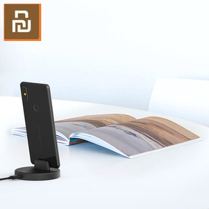 Image 4 - Беспроводная подставка для телефона Youpin Panki, зарядное устройство Type C 18 Вт, быстрая Беспроводная зарядка для Samsung Huawei Xiomi, держатель для быстрой зарядки