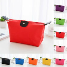 Fashionable and simple cosmetic bag Waterproof stationery storage bag