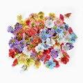 Искусственный цветок 20 шт./лот, маленькая Орхидея для свадьбы, домашних вечерние ничных украшений, гирлянда «сделай сам», свадебный головно...
