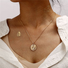 Gold Color Multi layer Necklace For Women Sea Shell Cowrie Pendant Choker 2019 Brincos Female Summer Beach Boho Jewelry