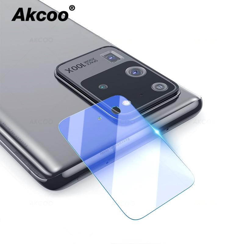 Akcoo S20 Plus Camera Protector Flexible Glass Film For Samsung Galaxy S20 Ultra Camera Len Film HD Transmittance Anti Scratch