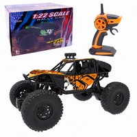2.4G 1:22 Remote Control Truck Off road Climbing Dirt Bike RC Car Auto Shock Absorbers Racing Toys For Children Kids 3 Years I k