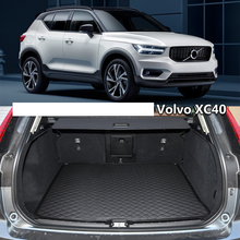 lsrtw2017 for volvo xc60 XC40 leather car trunk mat 2011 2012 2013 2014 2015 2016 2017 2018 2019 2020 cargo liner accessories