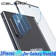 Vidrio templado de la cámara trasera para Samsung Galaxy Note 10 Pro 10 + película protectora de cristal de la pantalla para Samsung Note 10 Plus