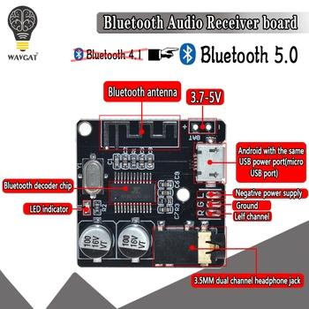 5V MP3 Bluetooth płyta dekodera bezstratnej głośnik samochodowy płyta wzmacniacza Audio zaktualizowane Bluetooth 5 0 obwodu odbiornik Stereo moduł tanie i dobre opinie WAVGAT APE FLAC MP3 WAV AC6925C 30*30mm Zasilanie zewnętrzne 20 godzin Brak VHM-314 Czysta Audio MP3 Dotykowy Tone