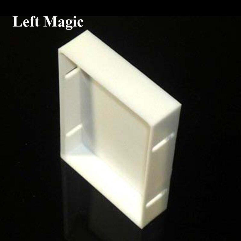 O refrigerador (gimmick) por christian engblom truques mágicos adereços gimmicks fechar-se cartão de rua magia mentalismo diversão