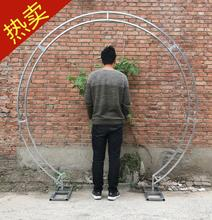New wedding props circular double-pole arch frame single-pole iron background arc