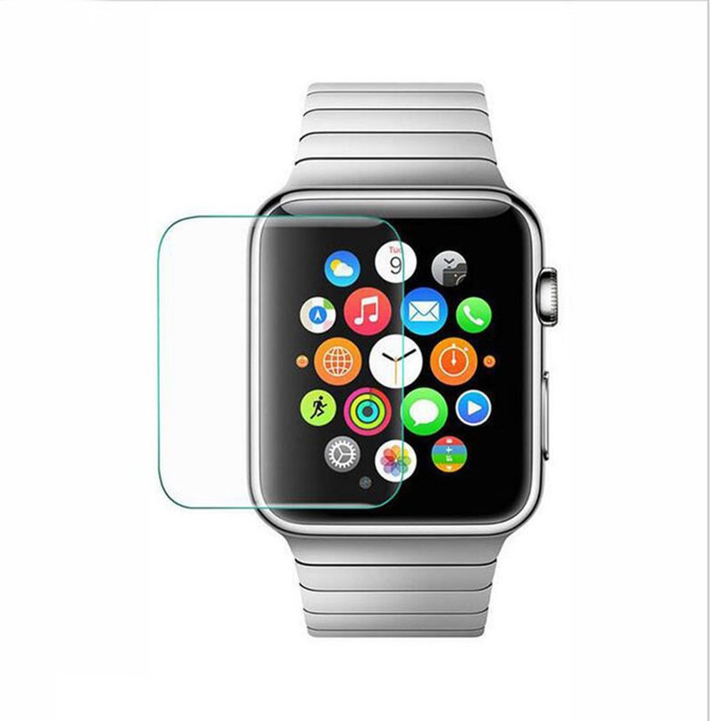Ultra Thin Protective Film Smude-Resistant Shatter-proof Tempered Glass Suitable For Apple Watch 2019 For Watch Protection
