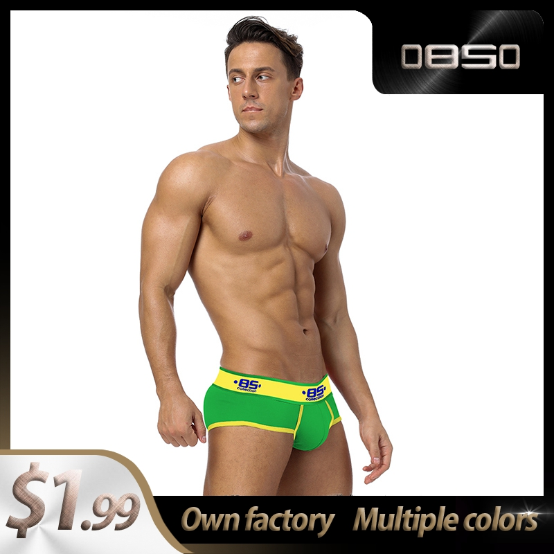 High Quality CMENIN Cotton Breathable Mens Briefs Underwear Shorts BS Innerwear Sexy Gay Men Underwear Bikini Men Briefs Cueca