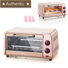 220 v 10l multifuncional fornos de microondas automático mini forno elétrico para casa cozimento controle temperatura livre 800 w rosa