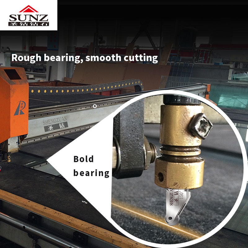 The Cutting Head Of CNC Glass Cutting Machine Can Be Replaced