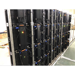 Image 5 - 500 × 500 ミリメートル屋内 rgb led 表示画面レンタル p3.91 屋内ダイカストアルミキャビネット広告ビデオウォール led スクリーン