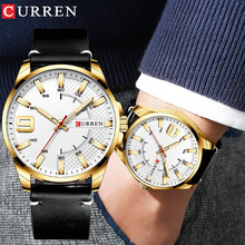 цена на Relogio Masculino 2019 Curren Army Military Quartz Mens Watches Top Brand Luxury Leather Men Watch Casual Sport Male Clock Watch