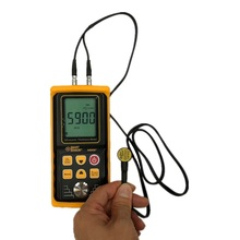 цена на AR850+ Ultrasonic Thickness Gauge Tester Sound Velocity Meter Metal Width Measuring 1.2 to 225MM For Steel Aluminium Plate
