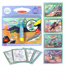 Water-Painting Colorful Repeatedly This Can-Be-Used Graffiti Baby Magical Children's
