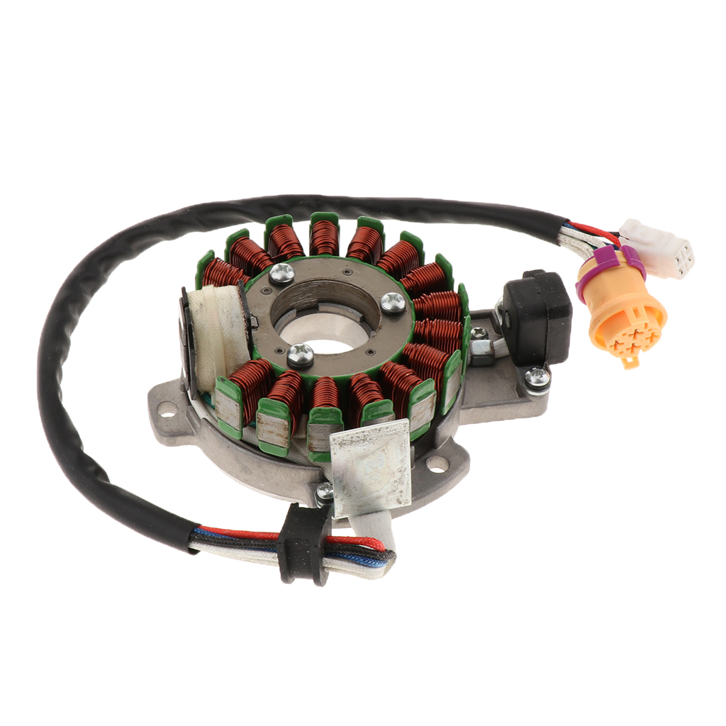 For Honda CH250 CF250 Water Cooled Engine Parts Durable 18-Coil Magnetor Stator