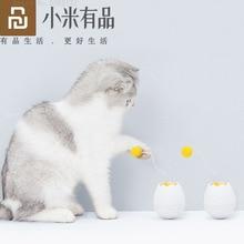Youpin Furrytail elektronik hareket kedi oyuncak akıllı interaktif oyuncaklar Pet komik arkadaşı çarpıntı dönen İnteraktif bulmaca oyuncaklar