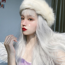 AILIADE Wigs Long Water Wavy Synthetic Wigs