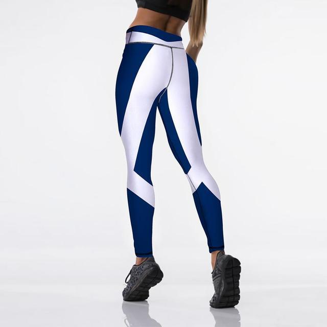 Sexy High Waist Elasticity Women Digital Printed Leggings 6