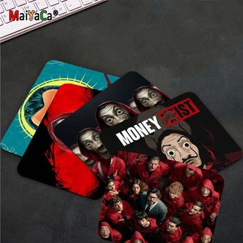 MaiYaCa New Designs Spain TV Money Heist Comfort Mouse Mat Gaming Mousepad Smooth Writing Pad Desktops Mate gaming mouse pad