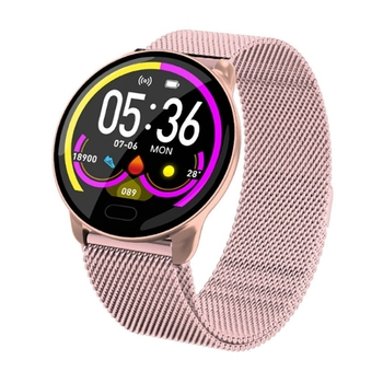 Zinc Alloy K9 Color Screen Smart Bracelet Health Monitoring Smart Reminder Bracelet Multifunctional Bluetooth Sports Bracelet image