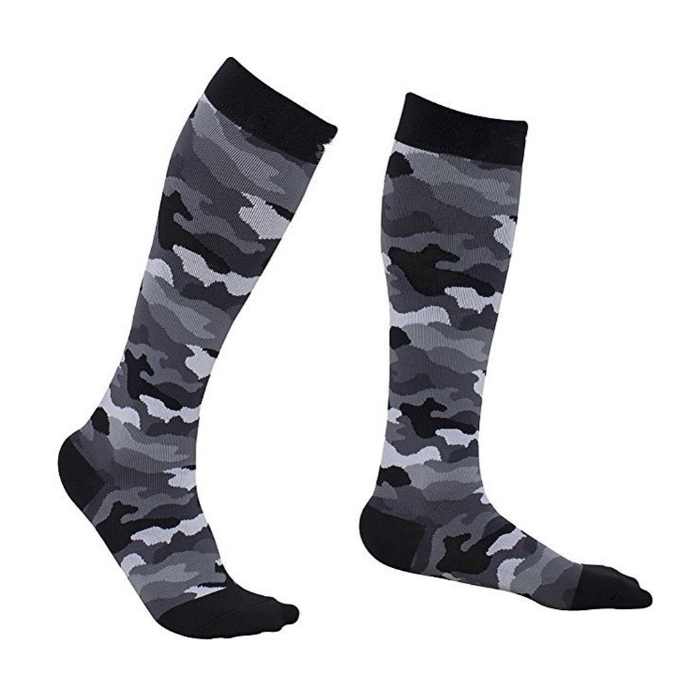 SFIT Chaussette, футбольные носки для бега, Homme, Длинные спортивные носки выше колена, носки для бега, велоспорта, кемпинга, футбола - Цвет: E416009A