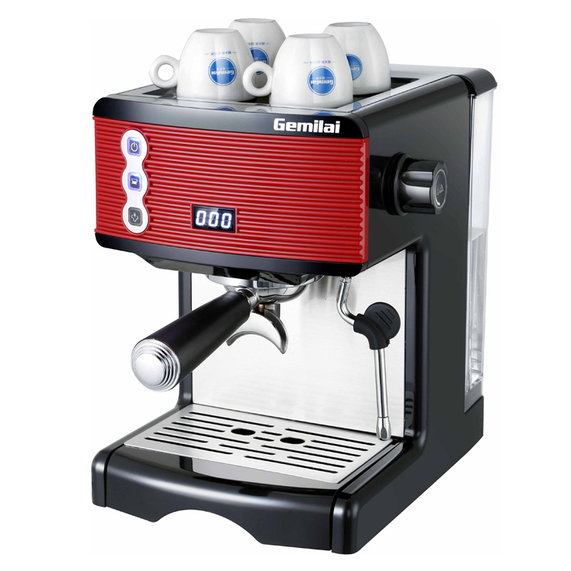 220v/1.7L Semi-automatic Household Italian Coffee Machine 2
