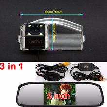 for Mazda 2  3 2004 2005 2006 2007 2008 2009 2010 2011 2012 2013 Sport rear view parking backup reverse Wireless camera monitor