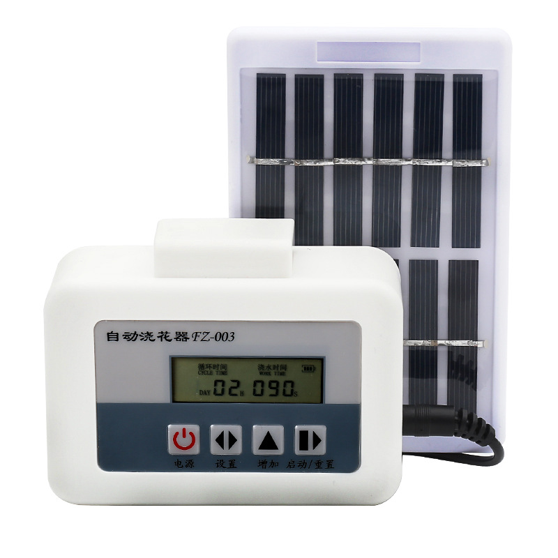 Solar Smart Automatic Watering Timer Watering Timer Watering Irrigation Timer Set USB Charging