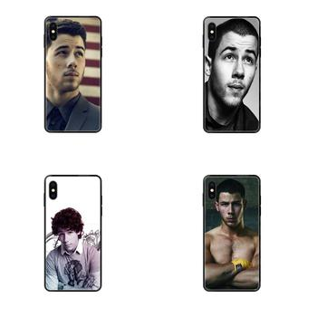 Cool Man Nick Jonas Soft TPU Black Phone Case For Apple iPhone 11 12 Pro 5 5S SE 5C 6 6S 7 8 X XR XS Plus Max image