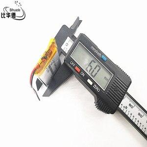 Image 4 - Good Qulity Polymer battery 550 mah 3.7 V 612338 smart home MP3 speakers Li ion battery for dvr,GPS,mp3,mp4,cell phone,speaker