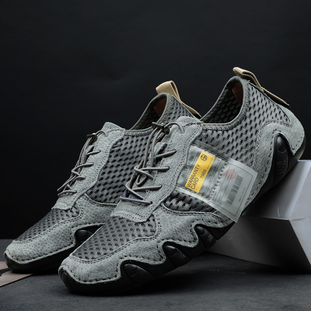 Læder sko