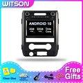 Мультимедийный плеер WITSON, Android 10,0, dvd, gps-навигация, для FORD F150 2009-2014, 4 Гб ОЗУ, 32 Гб ПЗУ, автомобильное радио