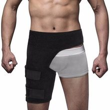 Gym Sport Legwarmmers Groin Support Wrap Hip Joint Support Leg Protection Waist Groin Sacrum Pain Hip Thigh Brace Sports Safety