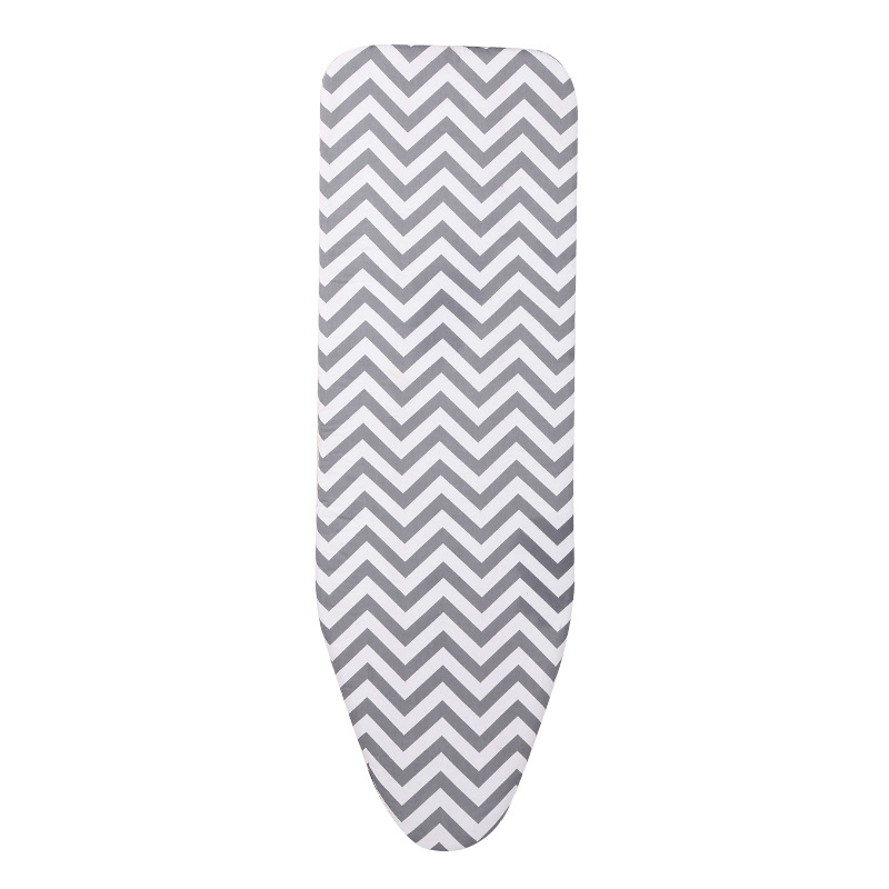 New-150x50cm Durable Reusable Flat Lightweight Heat Resistant Cotton Ironing Board Cover Felt Pad Household Printed Large Replac