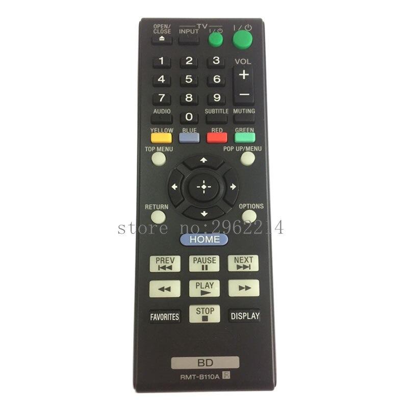 Original nouveau RMT-B110A de télécommande adapté pour sony BD lecteur de disque BLU-RAY BDP-S370 BDP-S370 BDP-S570 contrôleur de BDP-S360