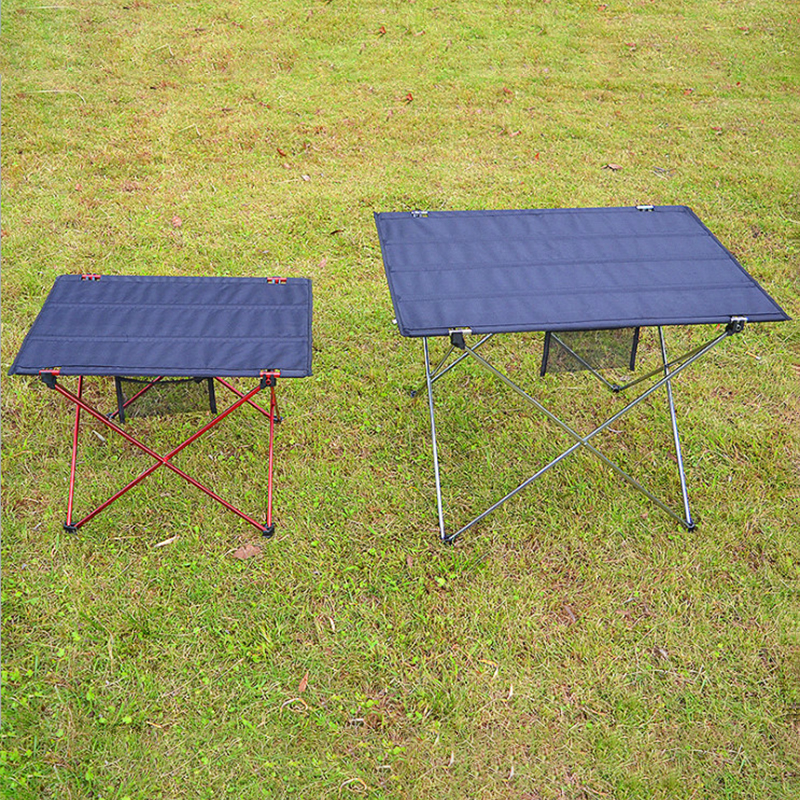 Outdoor Aluminum Folding Table Leisure Mesh Beach Table Portable Barbecue Picnic Table Outdoor Table