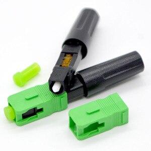 Image 4 - GONGFENG conector rápido de fibra óptica FTTH, 100 Uds., nuevo conector rápido de grado portador de modo único integrado, venta al por mayor especial