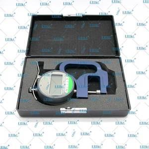 Image 4 - E1024080 Digital display micrometer thickness gauge measurement tool for common rail injector shims Fuel injector repair tool