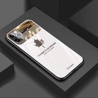 Funda de teléfono de vidrio templado con espejo para iPhone, 11 Pro MAX, XSMAX, XS, XR, X, 7, 8 Plus, protección de lente de maquillaje, cubierta de silicona a prueba de golpes