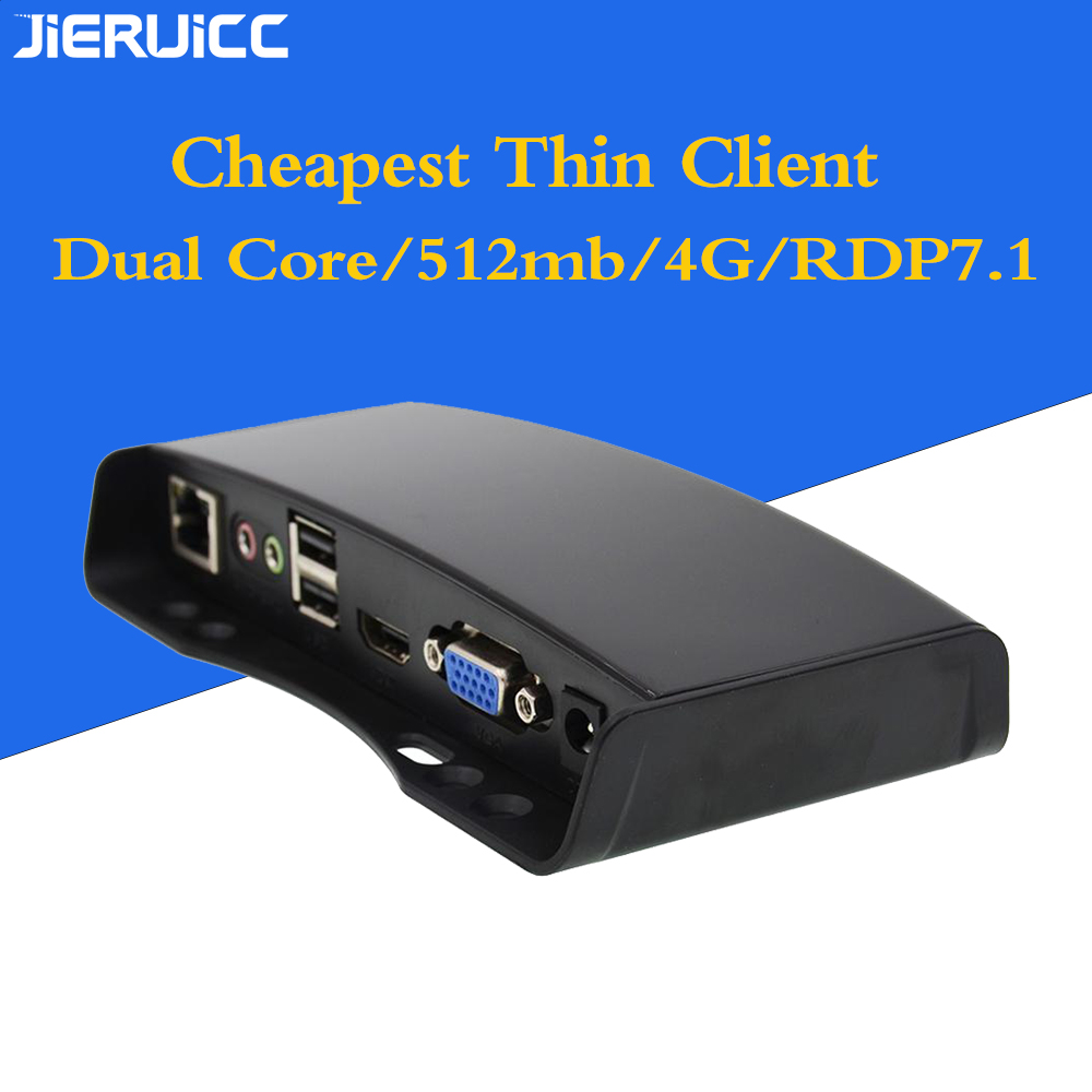 Lowest Price For Thin Client G2 For Computer Lab/office Working With RDP8.1 Protocol/Dual Core 1.2Ghz.RAM512mb.Flash4GB