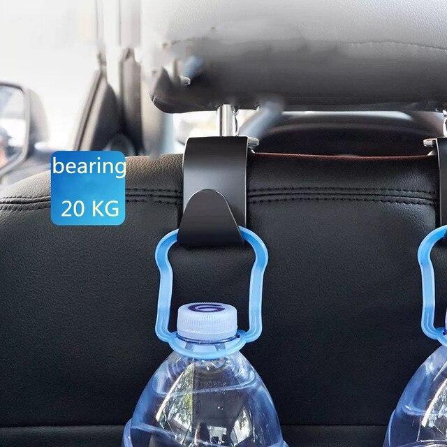 Купить 4x автомобильные крючки спинки сиденья сумка вешалка для bmw картинки цена
