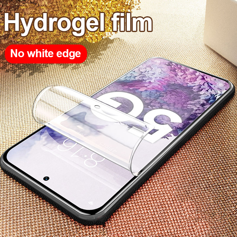 Official Screen Protector For Samsung S20 Plus Ultra A31 A51 A71 S8 S9 S10 Soft Film For Galaxy Z Filp Hydrogel Film Not Glass